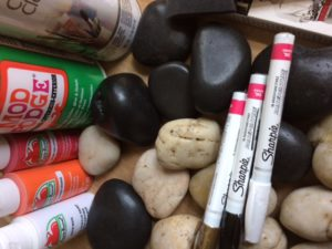 Rock Painting Session #1 @ Sabina Library